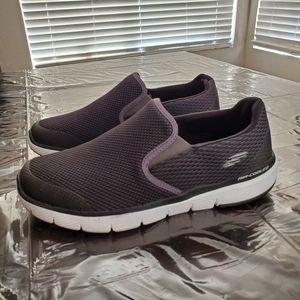 Skechers Men's Wide Fit Slip On Sneakers